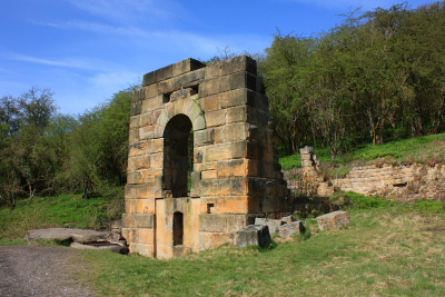 Watt's Engine House - once housed a Cornish pumping engine used to extract water from the adjacent Millclose lead mine.