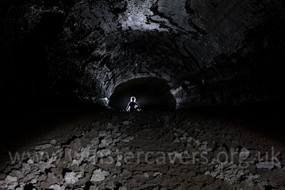 Grotta Di Cassone - a lava cave on Mount Etna