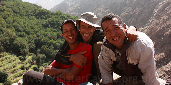 Our guides (left to right) Hassan, Ibrahim and Ibrahim